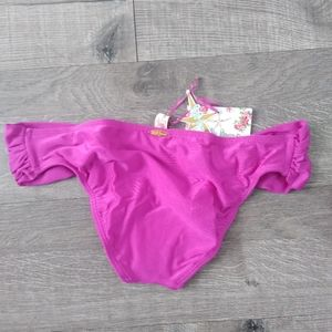 Lulifama Berry Triangle Bikini Bottom